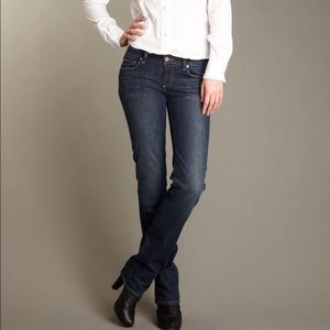 Paige Melrose Straight Leg Relaxed Fitted Jean